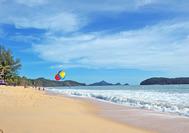 Playa infinita de Langkawi