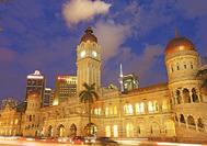 Malasia Viajes | Kuala-Lumpur  Edificio SULTAN-ABDUL-SAMAD