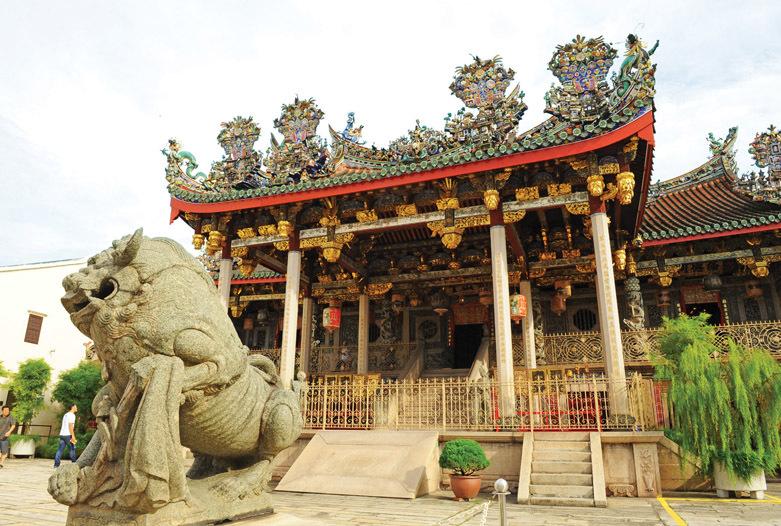 Viaje a Malasia | Georgetown Templo