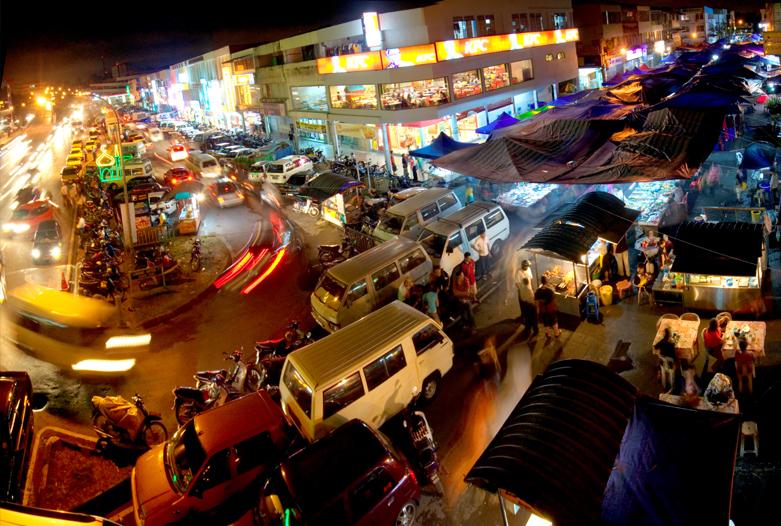 Malasia Viajes   Satok Market, Borneo