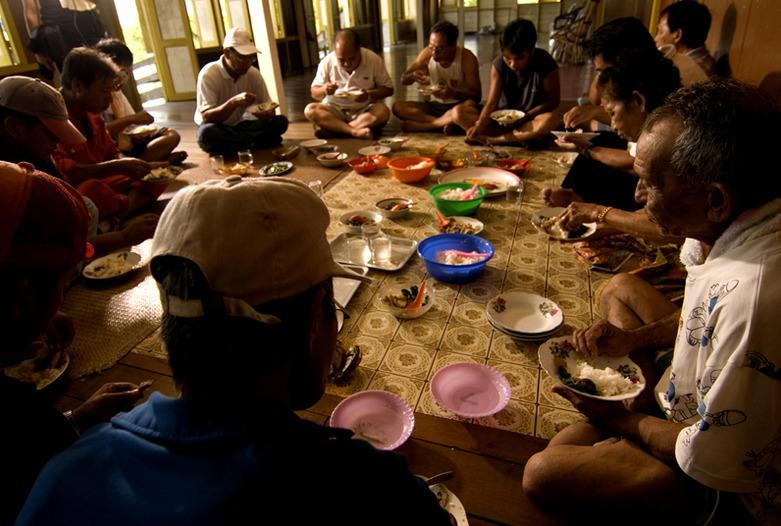Malasia Viajes   Iban longhouse, Borneo