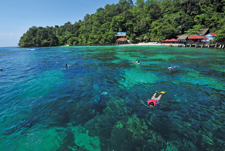 Malasia Viajes | Snorquel en Pulau Payar, Langkawi