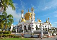 La Mezquita Ubudiah en Kuala Kangsar