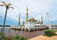 Malasia Viajes | Kuala Terengganu Mezquita de Cristal