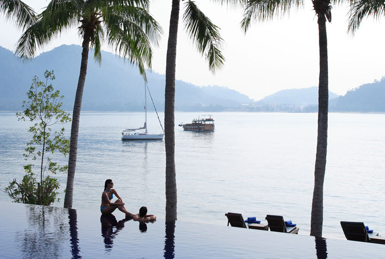 Malasia Viajes | Infinity Pool, Pangkor Laut
