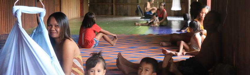 Malasia Viajes   Borneo Tribu Iban