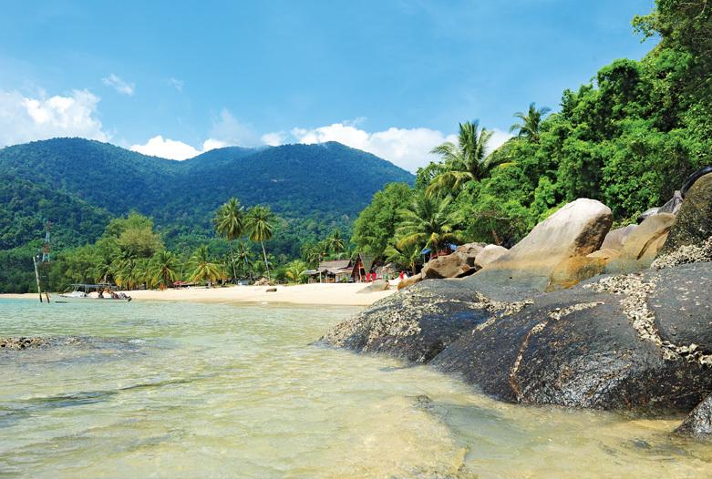Viaje a Malasia | Playa, Tioman Island