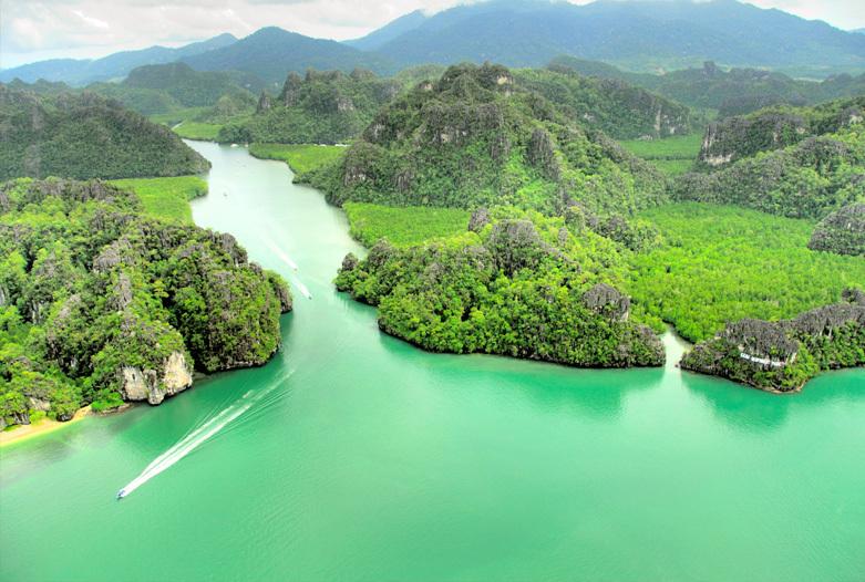 Malasia Viajes | Manglares, Langkawi