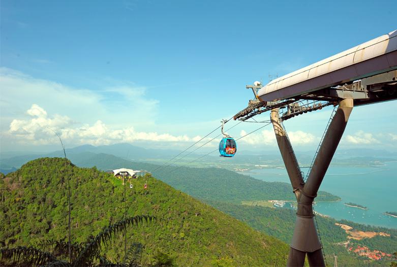 Malasia Viajes | Teleferico, Langkawi