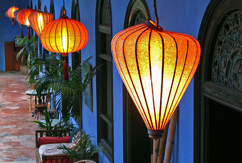 Viajes a Malasia | Detalle Blue Mansion, Georgetown